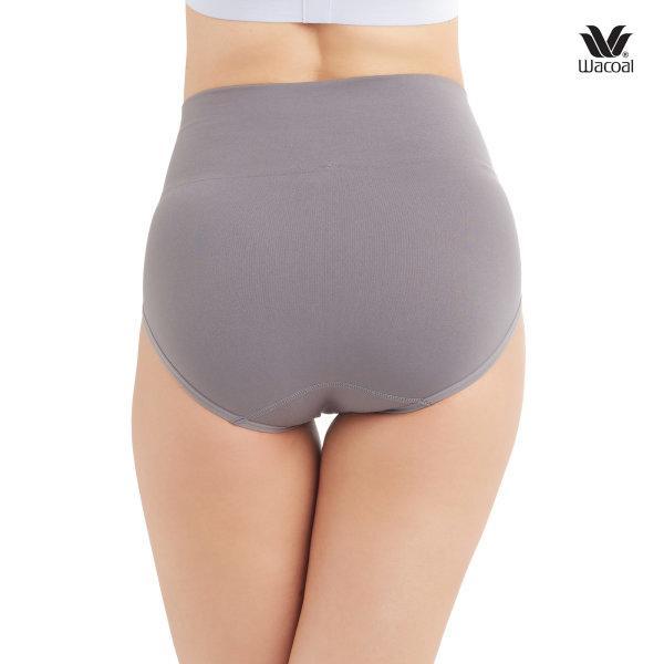 Wacoal Short Secret Support Panty Set 2 ชิ้น รุ่น WU4M17 สีเทา (GY)