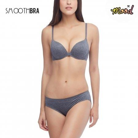 Wacoal Mood Smooth Bra รุ่น MM1E20,MM6X35 สีดำ (BL)