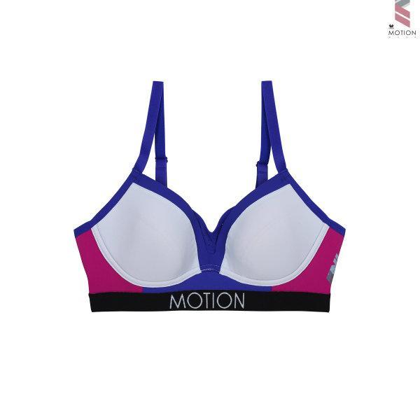 วาโก้ บราสำหรับออกกำลังกาย Wacoal Motion Wear รุ่น WR1512 สีชมพูออกแดง (RP)