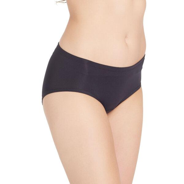วาโก้ กางเกงในอนามัย ครึ่งตัว (Wacoal Hygieni Night Short Panty) รุ่น WU5051 Set 5 ชิ้น สีดำ(BL)