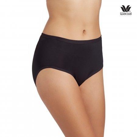Wacoal Short Panty Set 3 ชิ้น รุ่น WU4C34 สีดำ (BL)