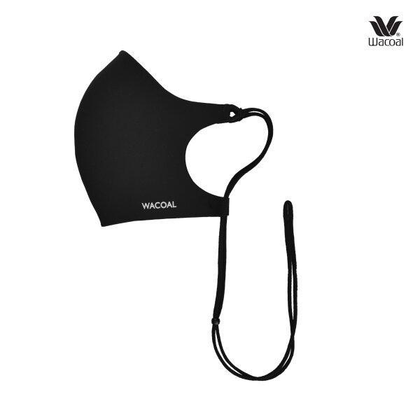 Wacoal 3D MASK Healthy With Style เซ็ต 3 ชิ้น รุ่น WW3002 สีดำ (BL)
