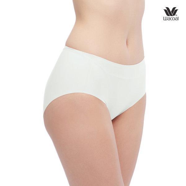 Wacoal Oh My Nude Half Panty Set 2 ชิ้น รุ่น WU3966 สีครีม (CR)