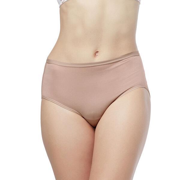 วาโก้ กางเกงใน เต็มตัว (Wacoal Value Pack Bikini Panty) รุ่น WU4M01(WU4C34) set 5 ชิ้น สีส้มอมน้ำตาล (OB)