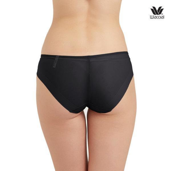 Wacoal Panty Oh my nudes Sheer Bikini : รุ่น WU1738 set 3 ชิ้น สีดำ (BL)