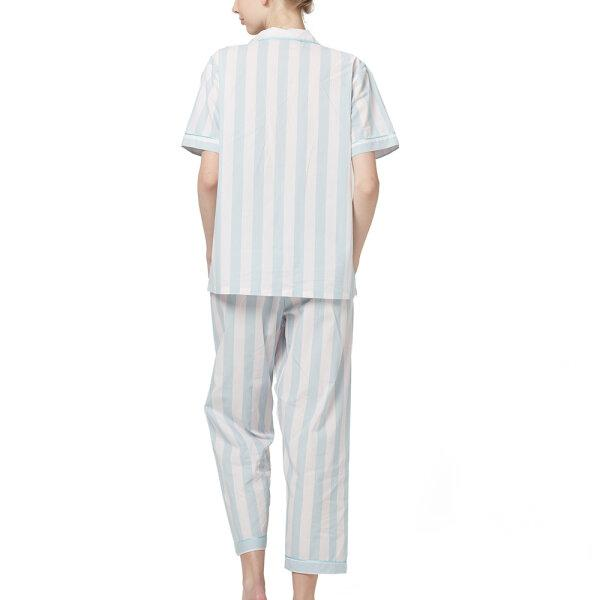 Wacoal Night Wear TEEBAZA Collection ชุดนอนวาโก้ รุ่น WV7M08 (SX) สีฟ้า