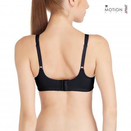 Wacoal Motion Wear Bra รุ่น WR1487 สีดำ (BL)