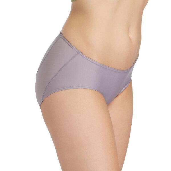 วาโก้ กางเกงในไม่เข้าวิน (Wacoal U-Fit Bikini Panty)  รุ่น WU2986 Set 3 ชิ้น สีชมพูอมเทา (GO)