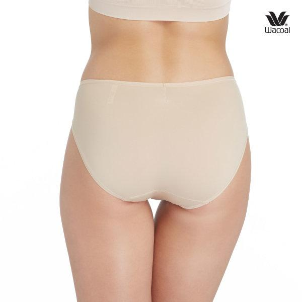 Wacoal Super Soft Basic Bikini Panty Set 3 ชิ้น รุ่น WU2811 สีเบจ (BE)