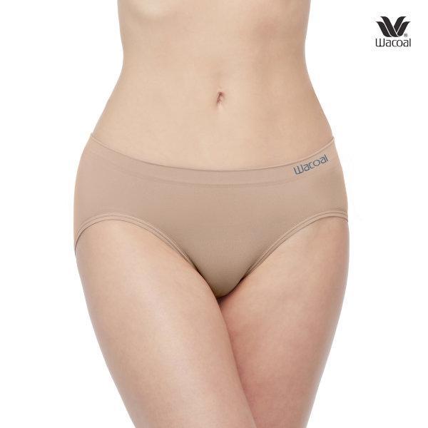 Wacoal Oh my nudes Bikini Panty Set 2 ชิ้น รุ่น WU1507 สีโอวัลติน (OT),สีดำ (BL)