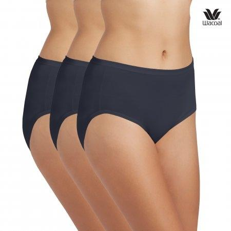 Wacoal Short Panty Set 3 ชิ้น รุ่น WU4M01 สีน้ำเงิน (BU)