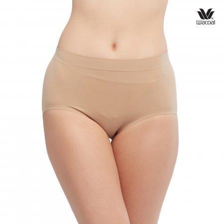 Wacoal Panty Oh my nude : Half รุ่น WU3906 Set 2 ชิ้น สีโอวัลติน (OT)