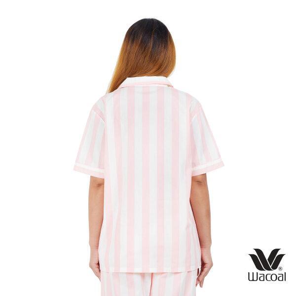 วาโก้ ชุดนอน (Wacoal Night Wear TEEBAZA Collection)  รุ่น WV7M08 สีชมพูอ่อน (SP)
