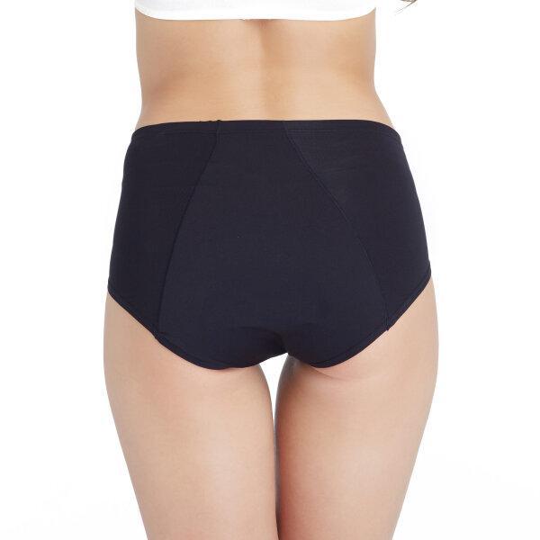 วาโก้ กางเกงในอนามัย ครึ่งตัว (Wacoal Hygieni Night Short Panty) รุ่น WU5041 Set 3 ชิ้น สีดำ (BL)
