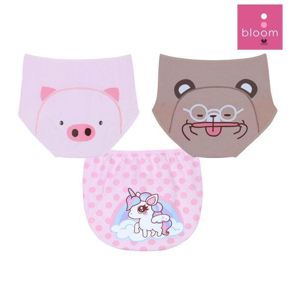 Wacoal Panty Hygieni Day Set 3 ชิ้น รุ่น WU5046 สีเนื้อ (NN),สีชมพูอมม่วงอ่อน (PV),สีชมพูอ่อน (LP)