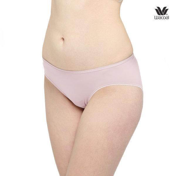Wacoal Super Soft Basic Bikini Panty Set 3 ชิ้น รุ่น WU2833 Set 3 ชิ้น สีชมพูอ่อน (LP)
