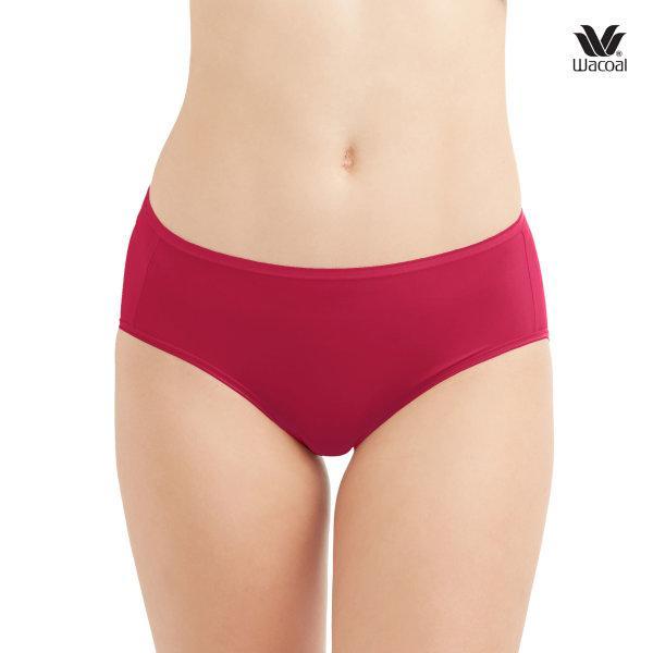 Wacoal Super Soft Half Panty Set 3 ชิ้น รุ่น WU3811 สีแดง (MR)