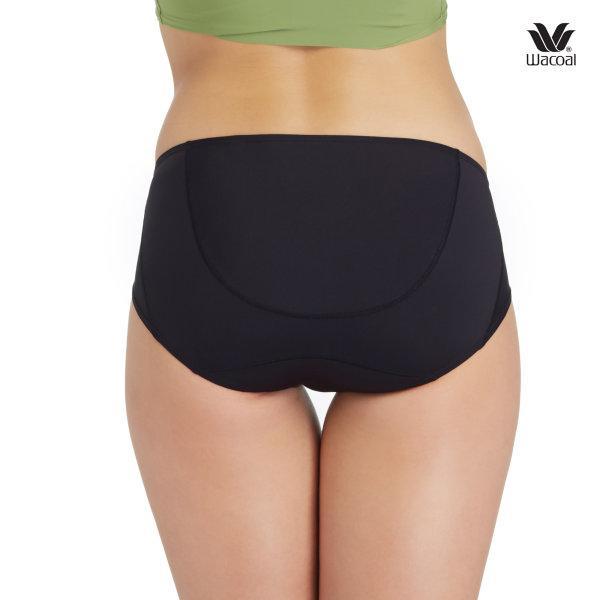 วาโก้ กางเกงในไม่เข้าวิน (Wacoal U-Fit Bikini Panty) Set 2 ชิ้น รุ่น WU2986 สีดำ (BL)