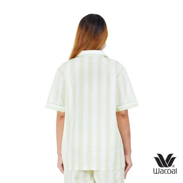 วาโก้ ชุดนอน (Wacoal Night Wear TEEBAZA Collection)  รุ่น WV7M08 สีเขียว (GR)