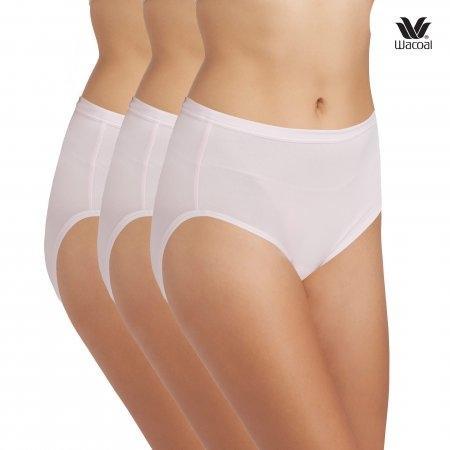 Wacoal Short Panty Set 3 ชิ้น รุ่น WU4M01 สีชมพูดอกคาร์เนชั่น (CP)