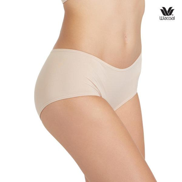Wacoal Boyleg Low Rise V-Cut Panty Set 3 ชิ้น รุ่น WU8458 สีเนื้อ (NN