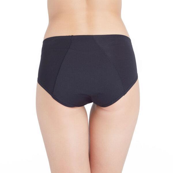 วาโก้ กางเกงในอนามัย ครึ่งตัว (Wacoal Hygieni Night Short Panty) รุ่น WU5051 Set 3 ชิ้น สีดำ(BL)