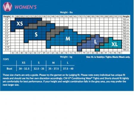CW-X Pro Woman รุ่น IC9157 พื้นดำเดินเส้นชมพู (ขา 5 ส่วน)