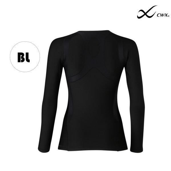 CW-X เสื้อจูริว Jyuryu Top Women (Hot Type) รุ่น IC661R สีดำ