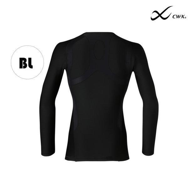 CW-X เสื้อจูริว Jyuryu Top Men (Hot Type) รุ่น IC662R สีดำ