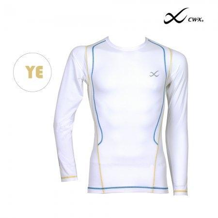CW-X เสื้อจูริว JYURYU TOP Man รุ่น  IC6272 สีเส้นเหลือง (YE)