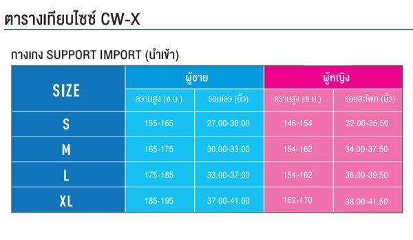 CW-X Expert Man รุ่น IC969E สีกรมท่า (ขา 9 ส่วน)