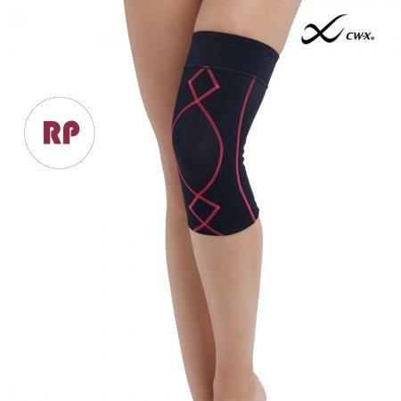 CW-X Support Knee Woman กระชับเข่า รุ่น IC3181 เดินเส้นสีชมพู (RP)