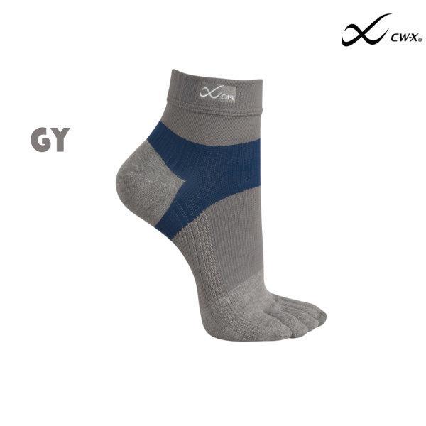 ถุงเท้า CW-X  Man รุ่น IC3393 สีเทา(GY)
