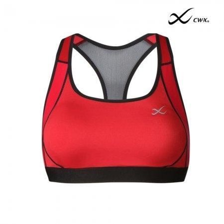 CW-X Sport Bra (บราสวมหัว) รุ่น IC4147 สีแดง