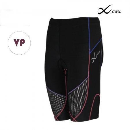 CW-X Stabilyx Ventilator Tri-Shorts Woman รุ่น IC915T สีแถบม่วงชมพู (VP)