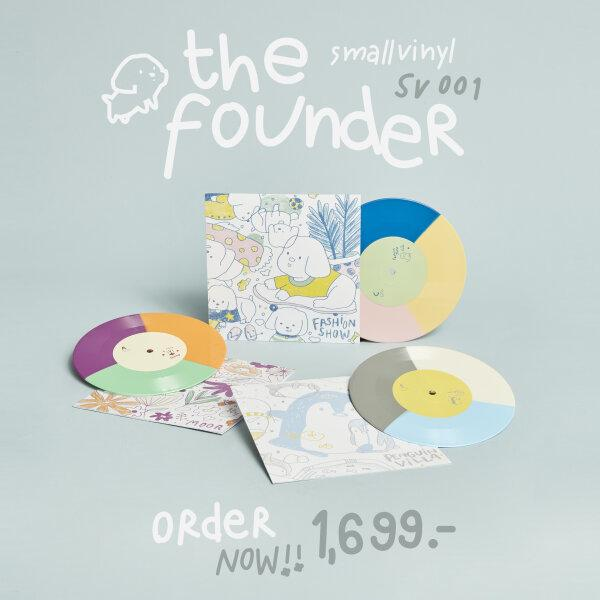 Vinyl : The Founder (SmallVinyl 001) | Smallroom