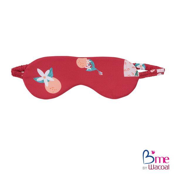 B'me เซ็ทชุดนอนในเซ็ทประกอบไปด้วยเสื้อนอน กางเกงนอนขาสั้น ถุงผ้า ผ้าปิดตา และหน้ากากผ้า รุ่น ME8800 สีแดง