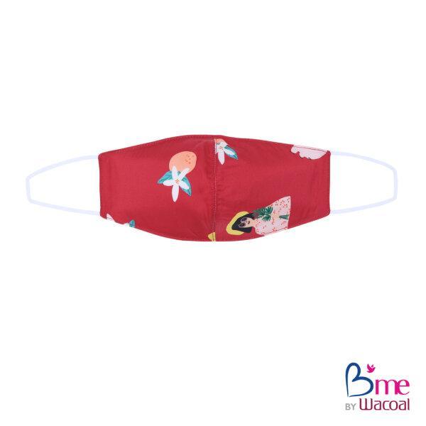 B'me เซ็ทชุดนอนในเซ็ทประกอบไปด้วยเสื้อนอน กางเกงนอนขายาว  ถุงผ้า ผ้าปิดตา และหน้ากากผ้า รุ่น ME8801 สีแดง