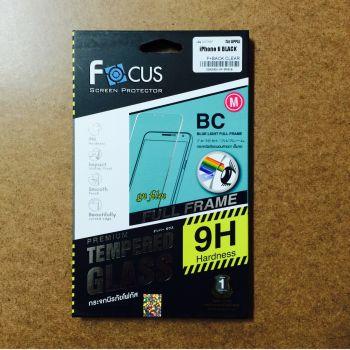 Iphone 6 / 6S (หน้า-หลัง) - กระจกนิรภัยถนอมสายตาขนาดเต็มจอสีดำ Tempered Glass (Blue Light Cut Full Frame)