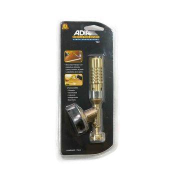หัวพ่นแก๊สแบบสั้น ตรา Adira No.942 รุ่นทองเหลือง