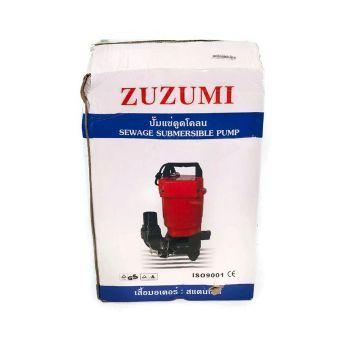 ปั๊มจุ่ม ดูดน้ำ ดูดโคลน ดูดตะกอน ดูดน้ำท่วม ตรา Zuzumi No.Z60