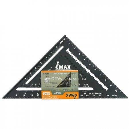 """ฉากวัดไม้ รุ่นสามเหลี่ยมสีดำ ตรา Imax ขนาด 12"""""""