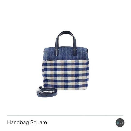 Handbag Square Kram Midi Scotch