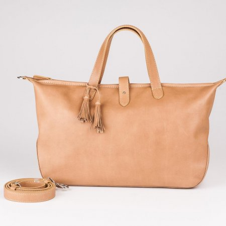 Holla Leather M_Beige