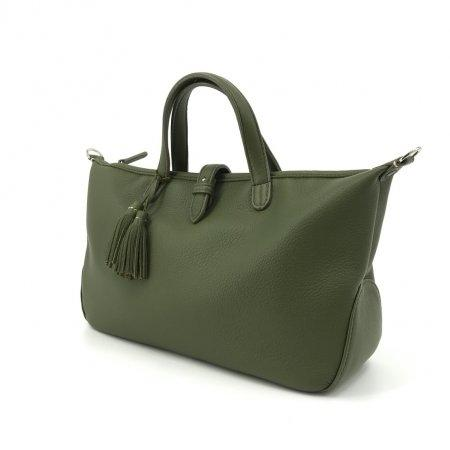 Holla Leather MS_(Deer Skin)_Army Green