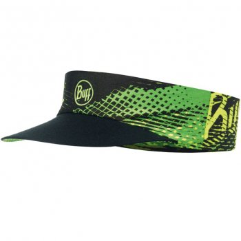 Buff Pack Run Visor Flash Logo Yellow Fluor