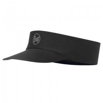 Buff Pack Run Visor R-Solid Black