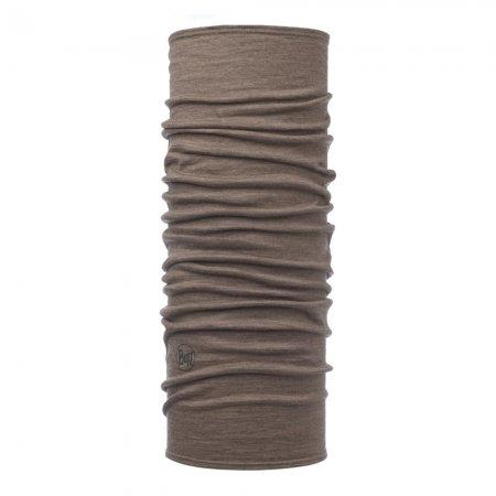 BUFF Lighweight Merino Wool Solid Walnut Brown