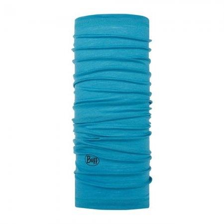 BUFF Lightweight Merino Wool Solid Scuba Blue