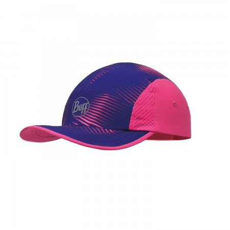 Buff Run Cap Optical Pink
